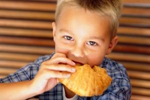 Éhes gyerek