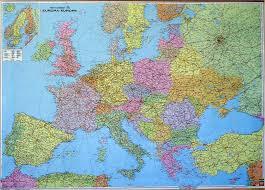 Útvonaltervezés európai térképpel