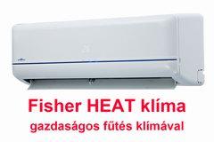 Fisher HEAT inverteres klíma-fűtés